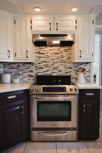 Kitchen Before & After in our previous home