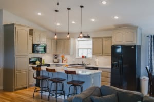 Kitchen Cabinets in Old Monterey Gray