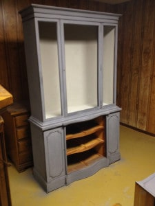 in progress of china cabinet