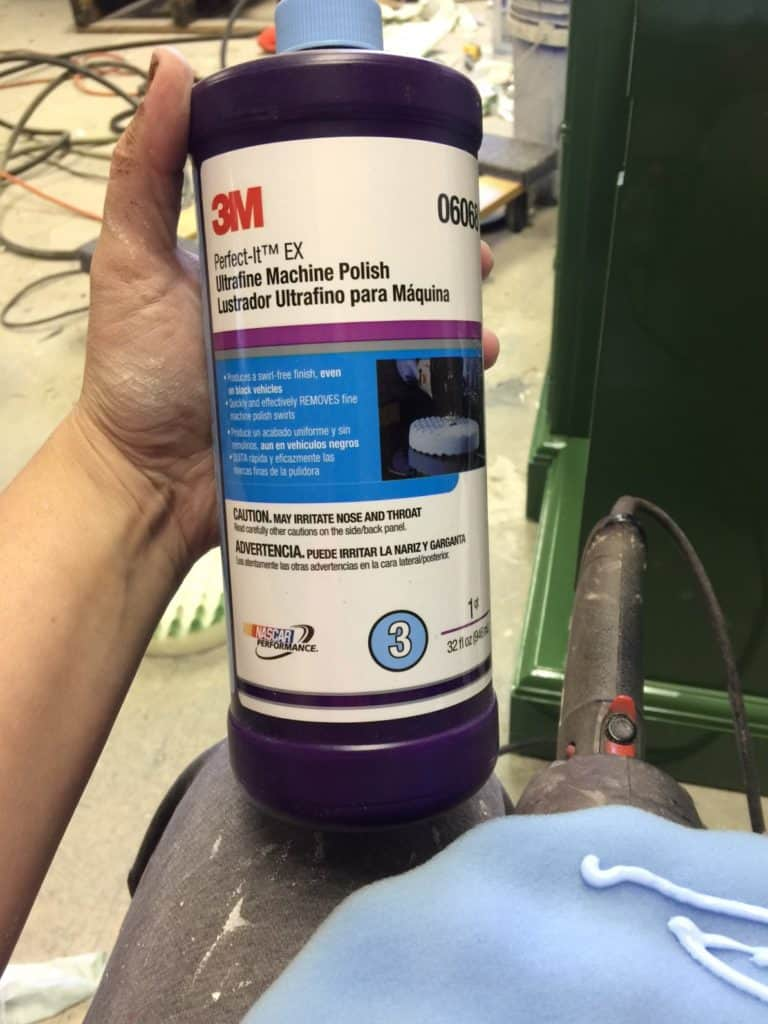 3m ultrafine machine polish