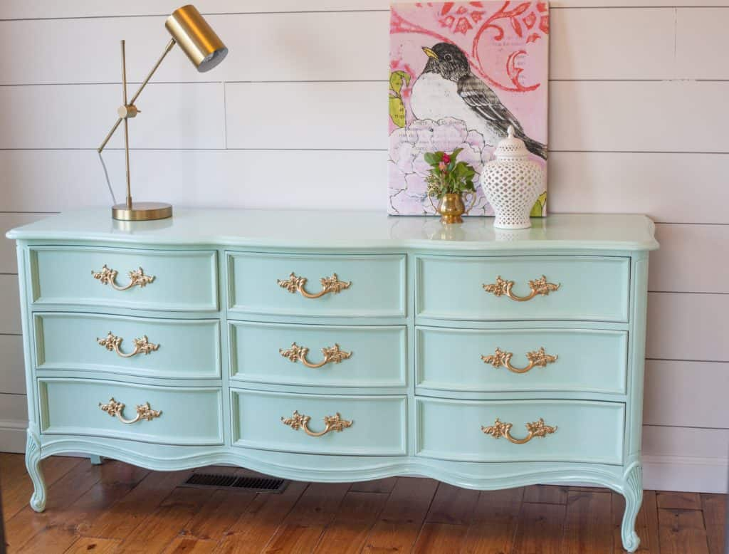 Provincial Bedroom Furniture Dixie French Provincial Dresser Goes Glossy Painted By Kayla Payne