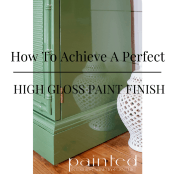 How To Get A Perfect, Glossy Paint Finish!!