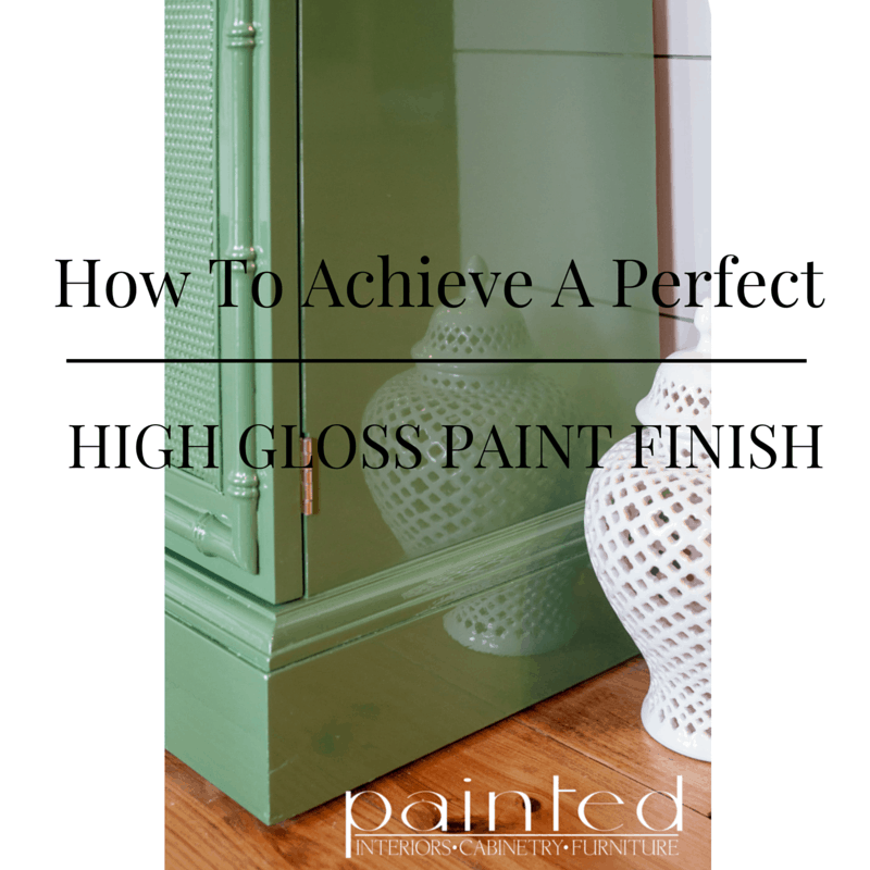 How To Get A Perfect Glossy Paint Finish Painted By