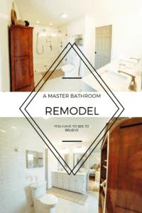 Our Current Fixer Upper: Master Bath
