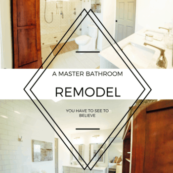 Our Current Fixer Upper: Master Bath