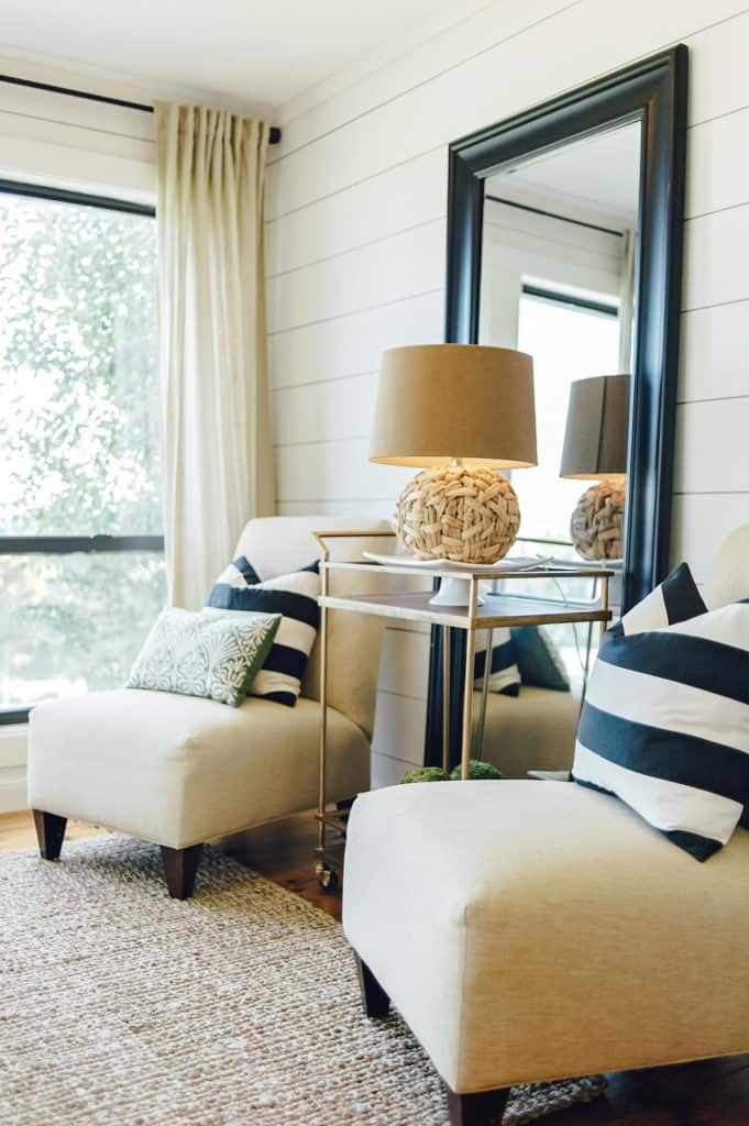 Turn your breakfast nook into a relaxing place to have your morning coffee and quiet time!