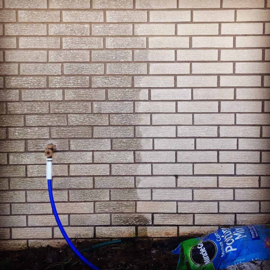power washing your home