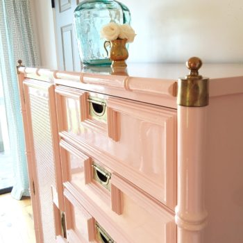 Bamboo Tallboy with Beautiful Surprise