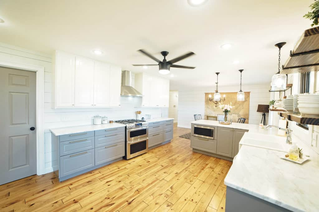 Our Fixer Upper Kitchen Remodel Before and After-Painted by