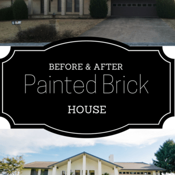 Painting our Brick House