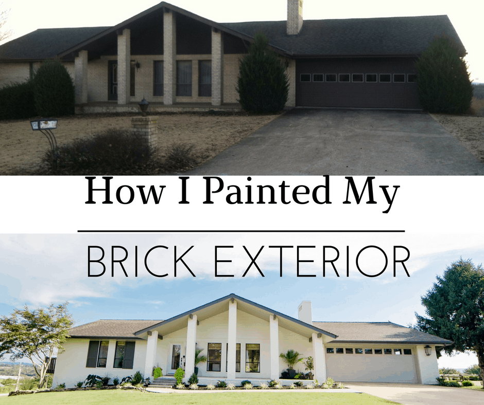 Painting a brick exterior what to do and how to do it - Exterior painted brick houses image ...