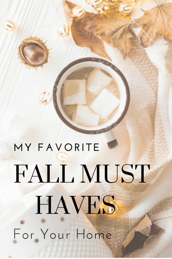 Check out my list of favorite fall decor to make your home perfectly warm and cozy this season!