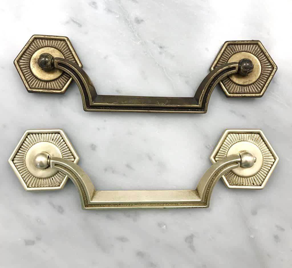 Tarnished vs Polished brass hardware