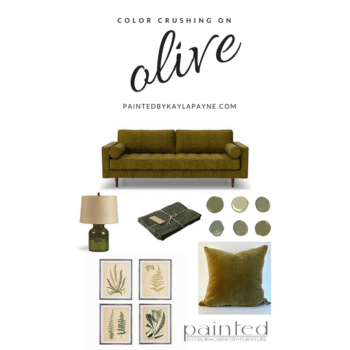 Color Crushing on Olive