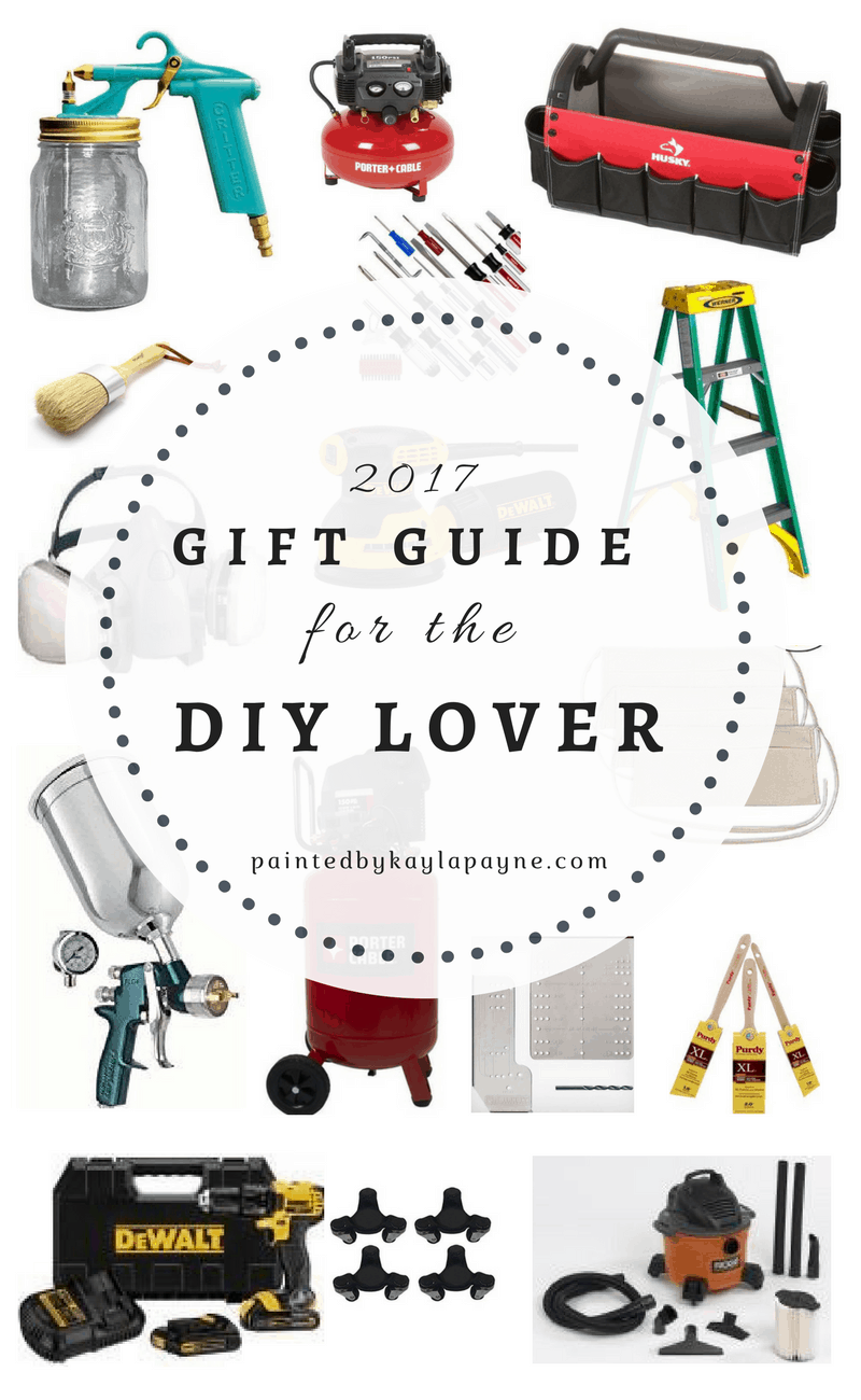 My 2017 Holiday Gift Guide is filled with tools and items that all DIY lovers would be so happy to open up on Christmas!!