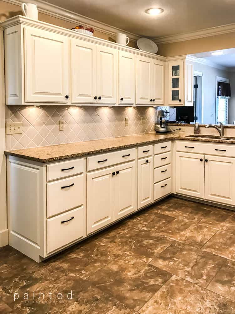 free used kitchen cabinets bye bye honey oak cabinets hello brighter kitchen 15617