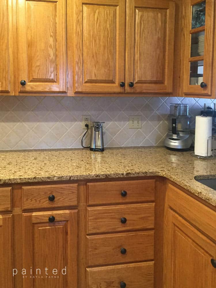 Bye Bye Honey Oak Kitchen Cabinets Hello Brighter Kitchen