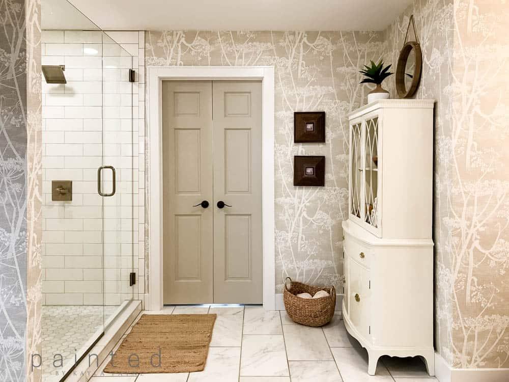 Pretty Bathroom Storage Ideas Plus Our Master Bath Reveal
