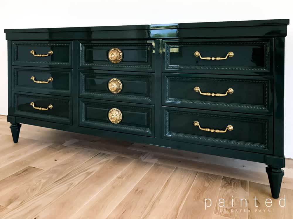 Marvelous Benjamin Moore Salamander Vintage Dresser In Fine Paints Of Home Interior And Landscaping Ologienasavecom