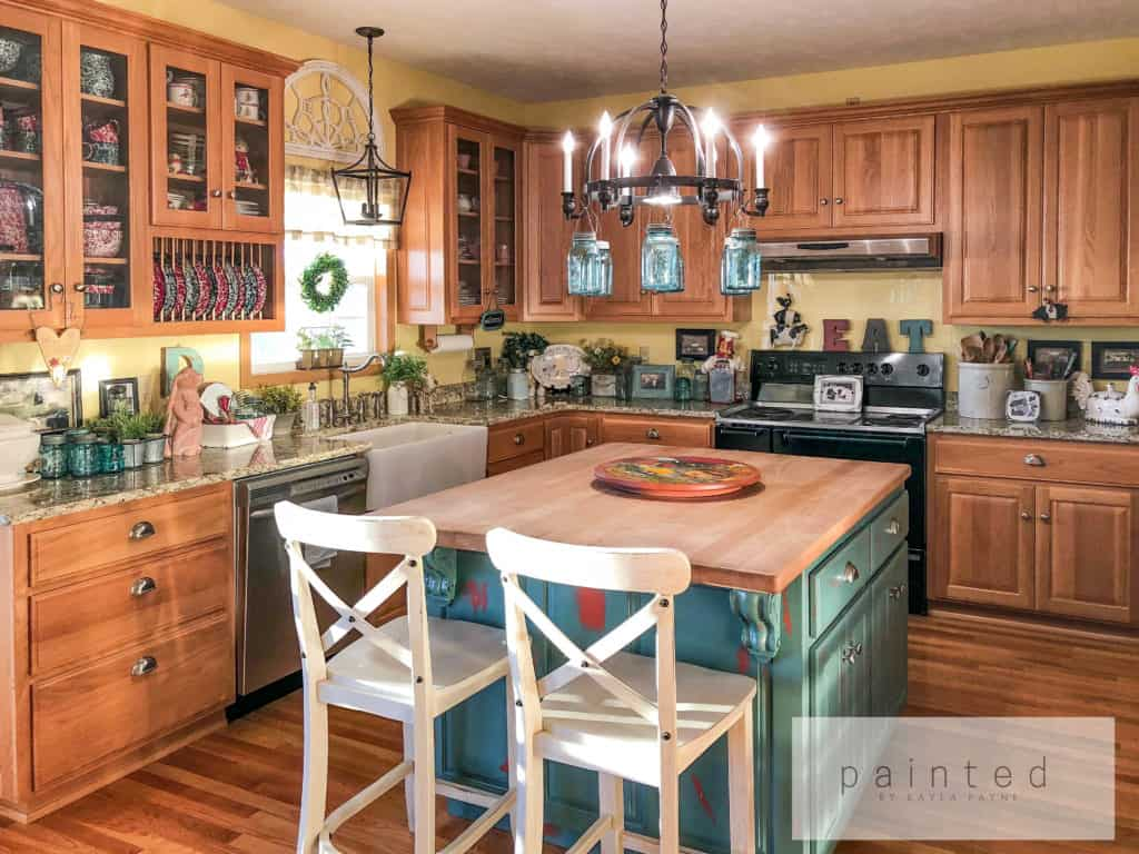 How to paint kitchen cabinets, How to paint oak cabinets ...