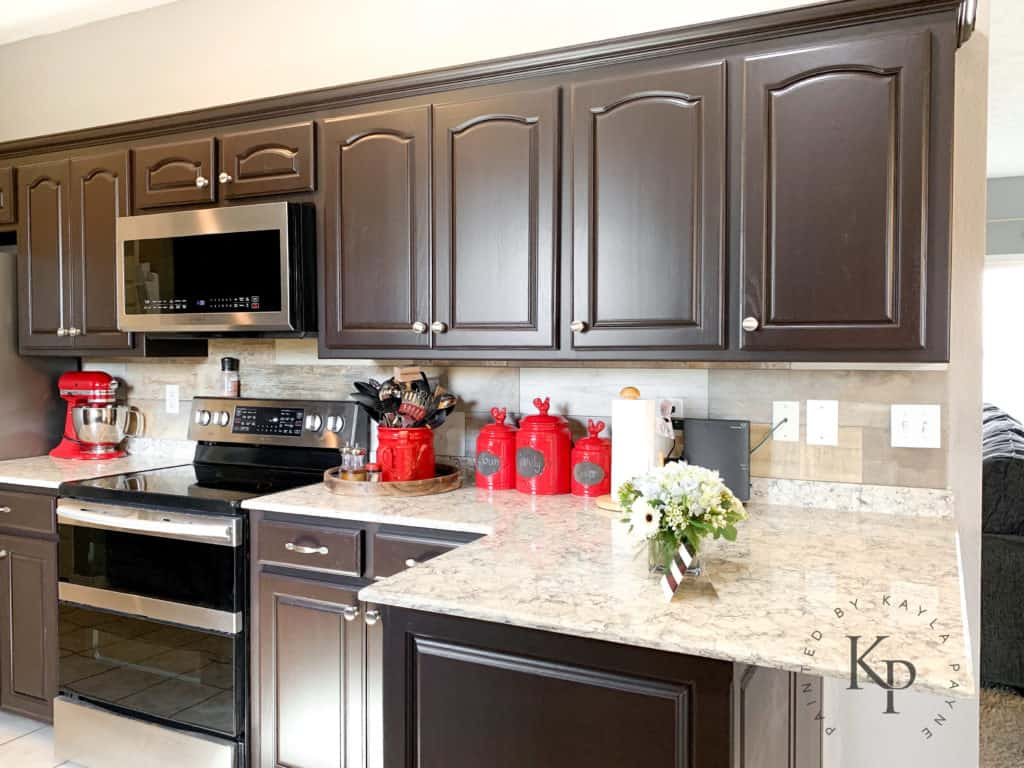 Dark Brown Cabinets Espresso Cabinets Espresso Painted