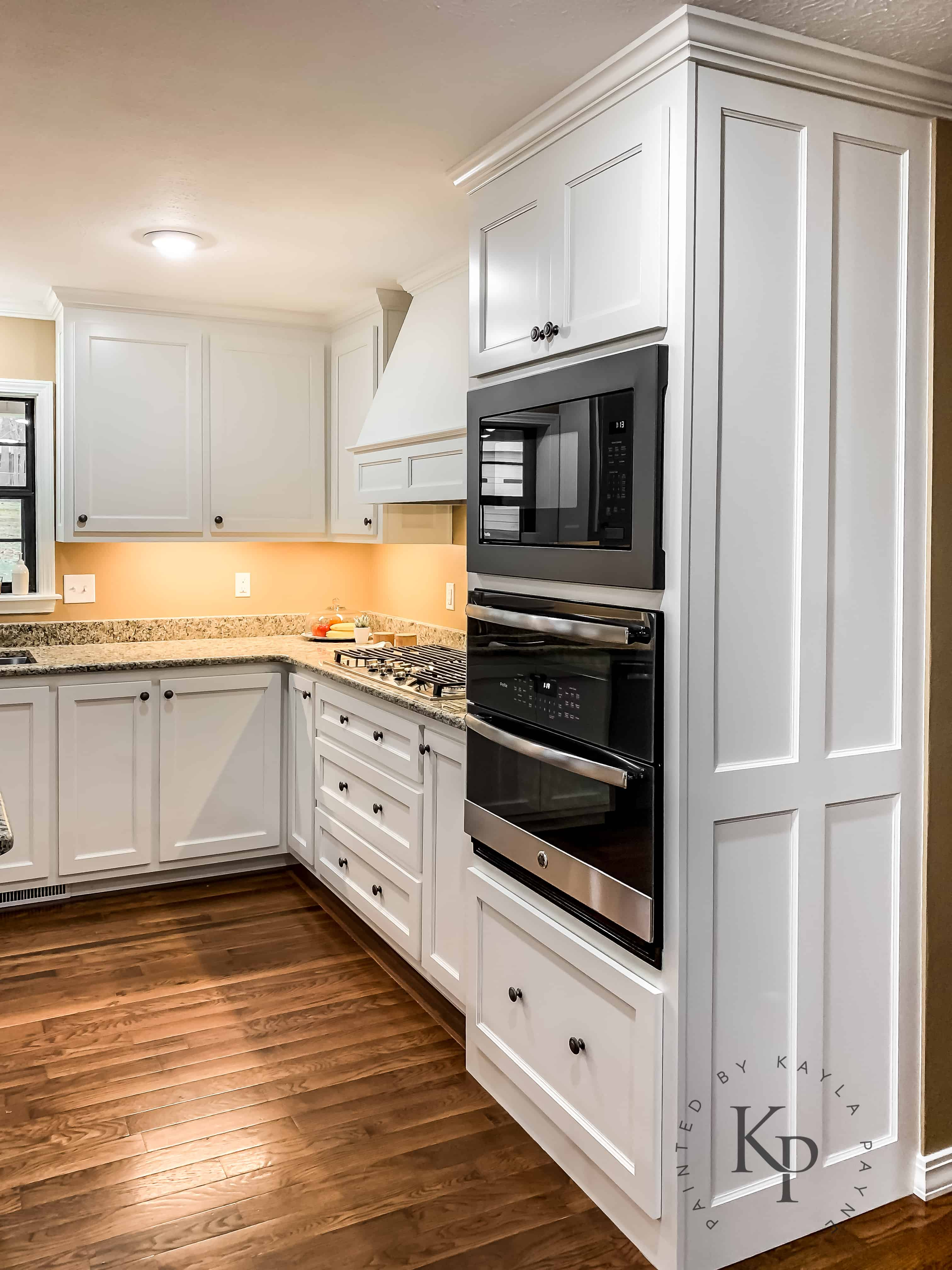 Kitchen Cabinets In Sherwin Williams Dover White