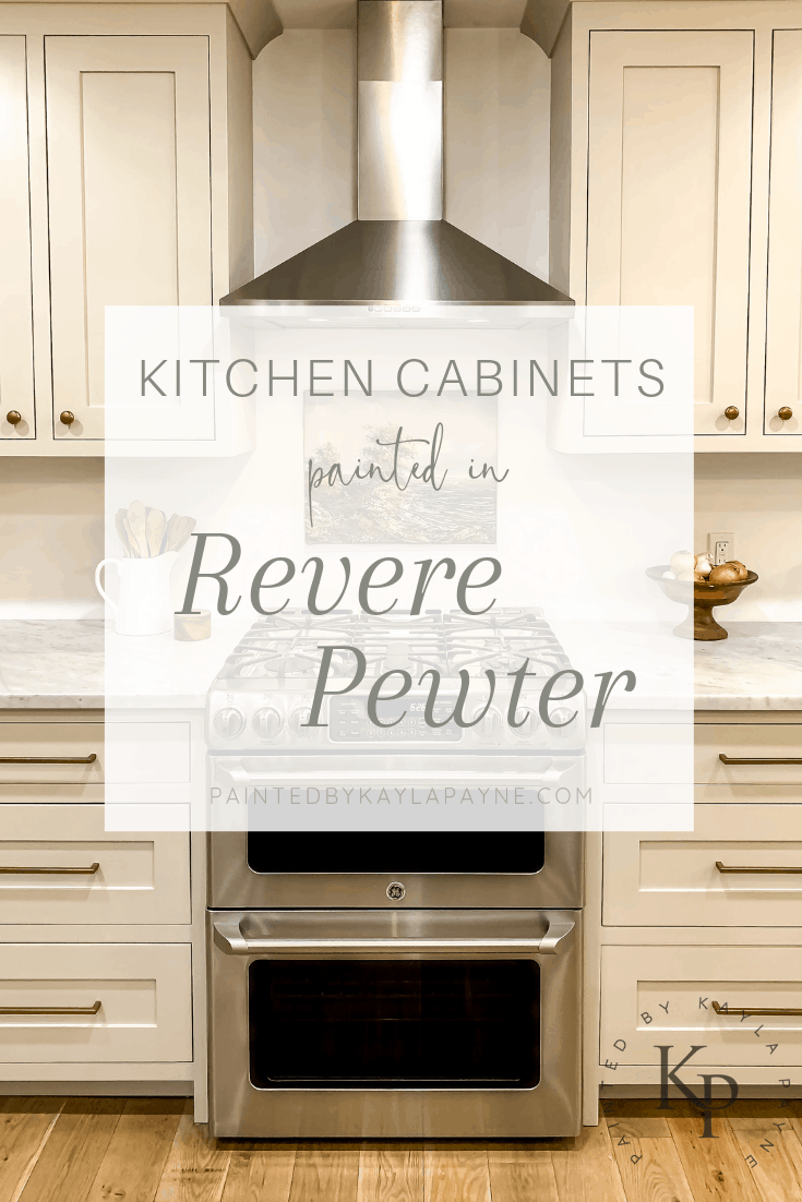 Revere Pewter Kitchen Cabinets Painted By Kayla Payne