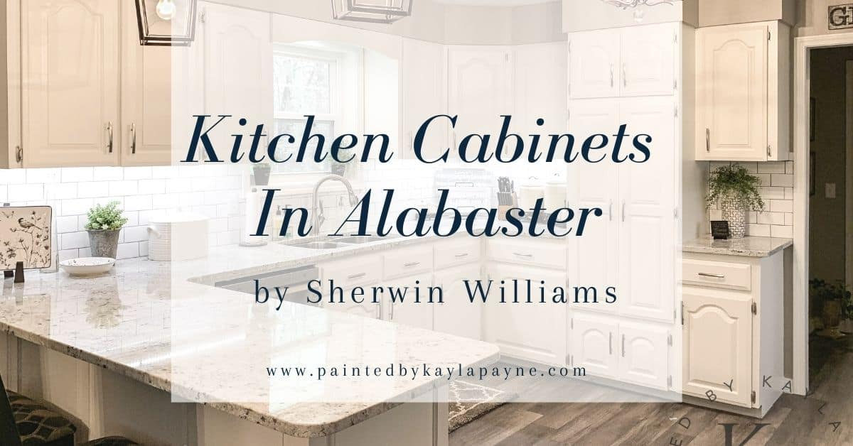 Sherwin Williams Alabaster Kitchen, What Color White To Paint Kitchen Cabinets Sherwin Williams