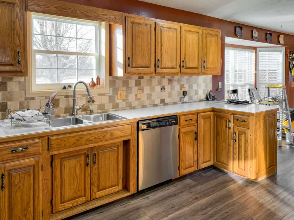 - Kitchen Cabinets Painted In Neutral Ground - Painted By Kayla Payne