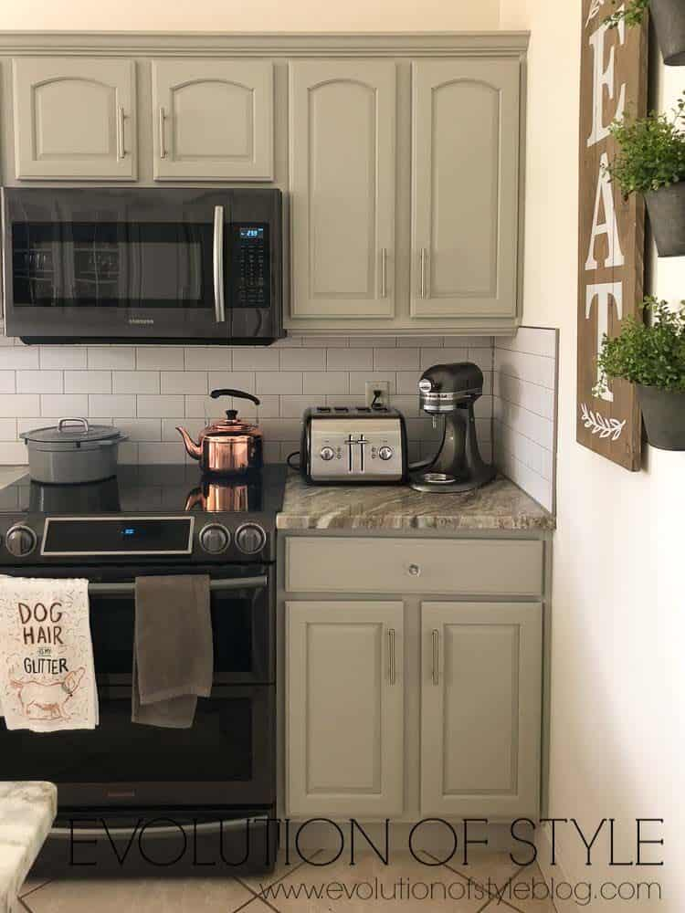 Mindful Gray Kitchen Cabinets Painted