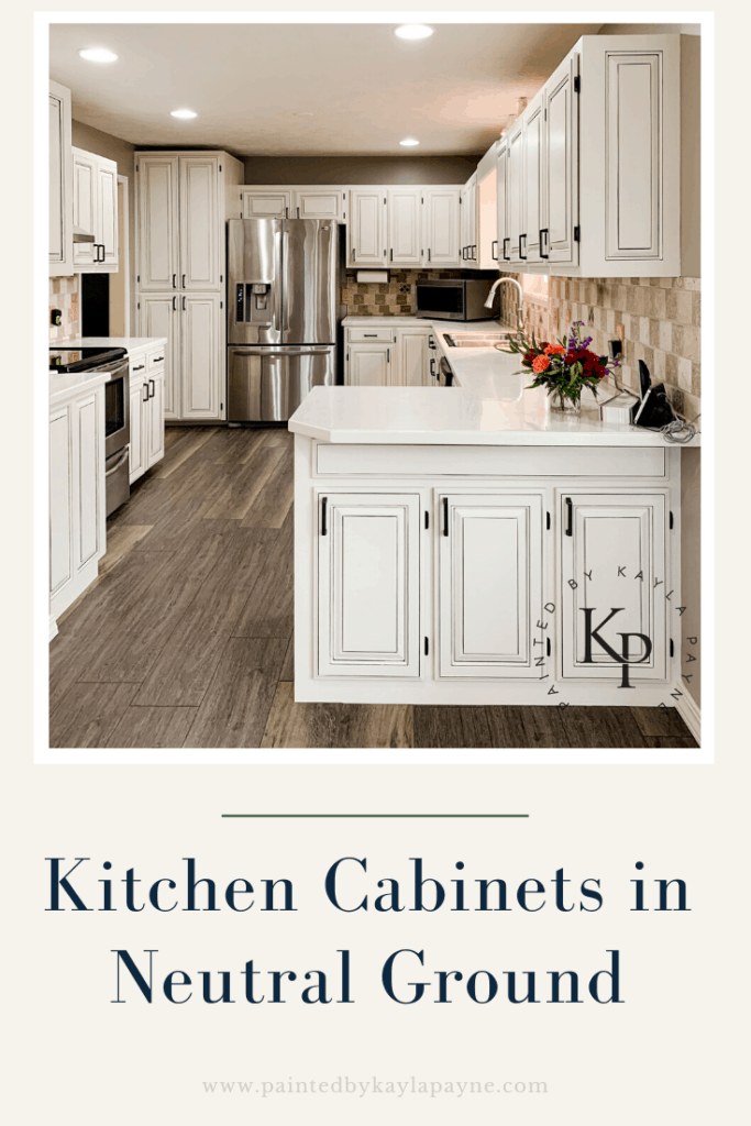 Kitchen Cabinets Painted In Neutral Ground Painted By Kayla Payne