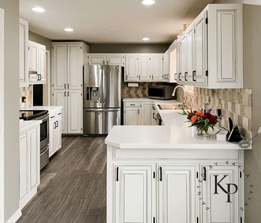 Kitchen Cabinets Painted In Neutral Ground - Painted by ...