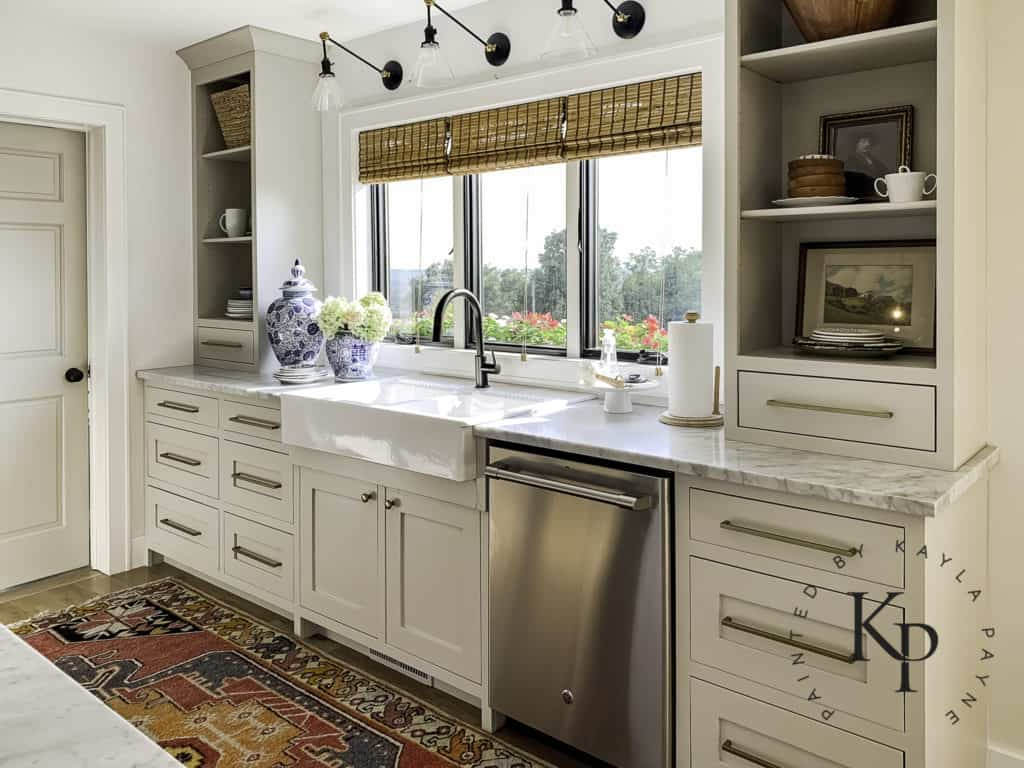 How Do Painted Cabinets Hold Up Over Time Painted By Kayla Payne
